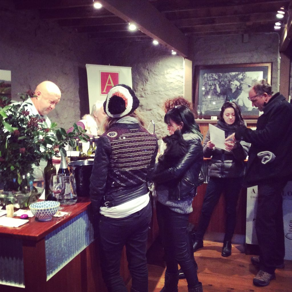 Angullong cellar door wine tasting - SIlver Compass Tours
