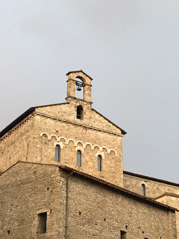 Cathedral of Anagni - built over a Roman temple, which was built over a pagan temple