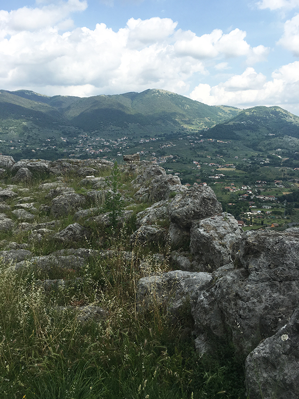 Remains of megalithic fortress at Alatri